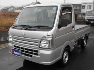スズキ キャリイトラック KCエアコン・パワステ マニュアル・4WD・ラジオ装備