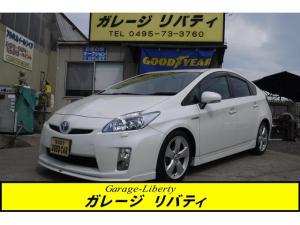 トヨタ プリウス Sツーリングセレクション ローダウン 純正ナビ・TV Bカメ