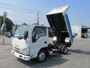 いすゞ/エルフトラック 2tフルフラットロー強化ダンプ