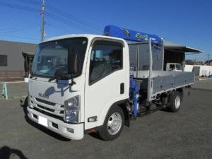 いすゞ エルフトラック  タダノ4段 ラジコン・フックイン 3t車