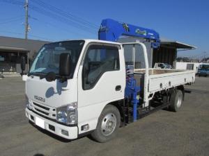 いすゞ エルフトラック  タダノ4段 ラジコン・フックイン 2t標準ロング