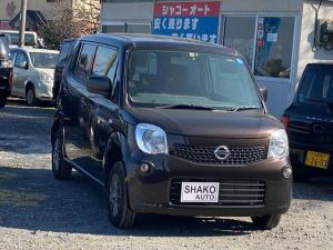 日産 モコ S FOUR 4WDアルミHDD ナビETC