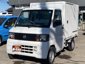 日産 クリッパートラック  保冷車 ワンタッチ式スライド片側 FRP
