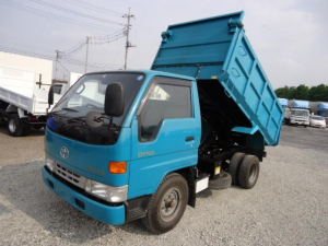 トヨタ ダイナトラック 深ダンプ2トン低床電動コボレーン付