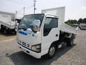 いすゞ エルフトラック 3トン強化ダンプ