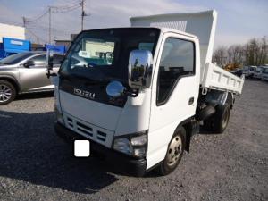 いすゞ エルフトラック 2トン高床強化ダンプスムーサーコボレーン付