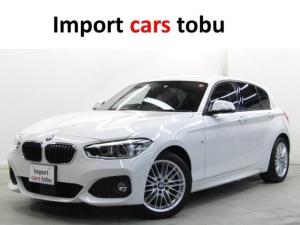 BMW 1シリーズ 118d Mスポーツ 純正ナビ LEDライト衝突軽減ブレーキ