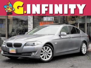 BMW 5シリーズ 535i 走行8.4万km・検:R3/9・本革電動シート&ヒーター・サンルーフ・純HDDナビ・バックカメラ・フルセグ・純18AW・HID・ETC・スマキー・Tチェーン