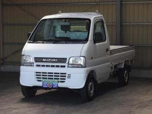 スズキ キャリイトラック KUスペシャル/5MT/4WD/タイミングチェーン