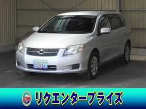 トヨタ カローラフィールダー 1.5X Gエディション スマートキー/HDDナビ/DVD再/MSV/CD/AUX/ETC