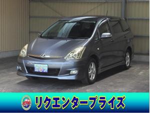 トヨタ ウィッシュ X エアロスポーツパッケージ キーレス/DVDナビ/DVD再/CD/ETC/HID