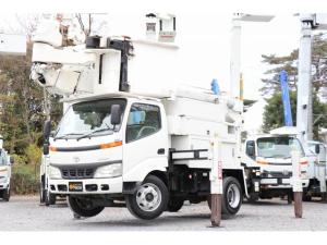 トヨタ ダイナトラック  アイチ高所作業車 SN15B 14.6m 電工仕様 積載600kg 車両総重量7895kg 左電各ミラー ESスタート ヘッドライトレベライザー DPF バックカメラ