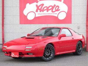 マツダ サバンナRX-7 GT-X 5速MT ローダウン 社外AW 社外エアクリ&マフラー