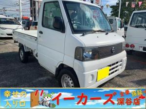 日産 クリッパートラック DX 三方開 5速マニュアル車 最大積載量350kg