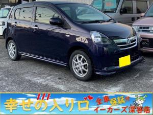 ダイハツ ミライース X メモリアルエディション エコアイドル DVD再生 ETC