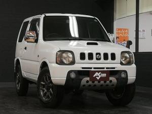スズキ ジムニー XL 4WD 5速MT ターボチャージャー キーレス メッキドアミラー 社外16AW