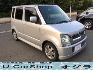 スズキ ワゴンR FX-Sリミテッド キーレス ベンチシート CD 14AW