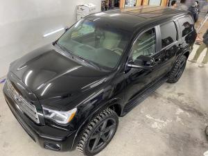 米国トヨタ セコイア 4WD サンルーフ LEXANI FOR 8ナンバー