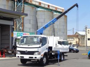 日野 デュトロ タダノ3段クレーン ラジコン 鉄箱仕様 積載2トン