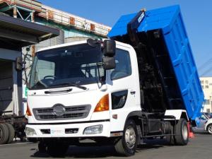 日野 ヒノレンジャー  新明和アームロール ツインホイスト CCA44-20 積載4050kg