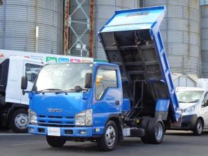いすゞ エルフトラック 強化ダンプ 積載3トン 新明和製 6速MT ディーゼルターボ DR2-0110SYモデル