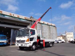 日野 ヒノレンジャー  ユニック4段ラジコン付きクレーン URU344モデル 積載2800kg 上物同年式 荷台サイズ長さ554cm幅214cm 2.93t吊り