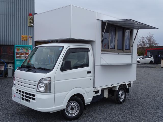 全国販売ご納車致します!! 移動販売車 ケータリングカー キッチンカー 新規架装 全塗装キャンペーン