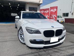 BMW 7シリーズ 740i 740i Mスポーツ サンルーフ 純正HDD/DVD Bカメラ 21AW ETC イージークローズ パワートランク トランクスポイラー ルーフスポイラー シートヒーター 黒革シート ダウンサス