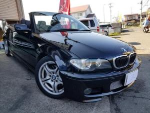 BMW 3シリーズ 330Ciカブリオーレ Mスポーツ/社外マフラー/地デジ/ETC/ブラックレザーシート
