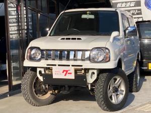 スズキ ジムニー XG 3インチリフトアップ メッキグリル 4WD ターボ 社外マフラー