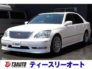 トヨタ セルシオ C仕様 インテリアセレクション 純正エアロ/BBS18AW