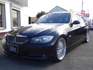 BMW 3シリーズ 320iツーリング ローダウン 社外アルミ 社外HDDナビ 純正ETC