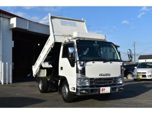 いすゞ エルフトラック  ダンプ 3t積載 3方開