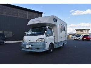日産 バネットトラック  キャンピング ナッツRV マッシュ・タイプW 高出力オルタネーター 80Wソーラー CTEK+SMARTPASS リチウムバッテリー(200Ah) 外部充電器(40A) 家庭用エアコン FFヒーター