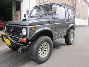スズキ ジムニー CC 5速マニュアル車 4WD 2インチリフトUP エアコン パワステ 幌新品 ロールバー ターボタイマー