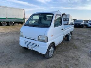 スズキ キャリイトラック KU 3方開 5MT 軽トラック AW ホワイト F6A SOHC 12V