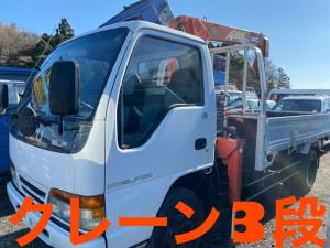 いすゞ エルフトラック  3段クレーン