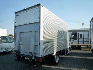 いすゞ エルフトラック ロング 3t標準幅 ロング アルミバンフルゲート ゲート揚力1t