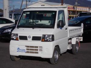 日産 クリッパートラック  ダンプ 4WD