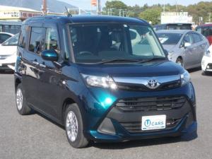 トヨタ タンク X S ナビTV 左Pスライド 軽減ブレ-キ