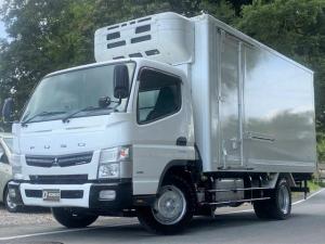 三菱ふそう キャンター  ワイドロングー30℃冷蔵冷凍車・積載2950kg・東プレ・車検令和4年2月まで