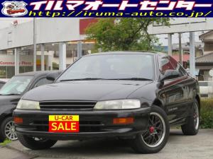 トヨタ カローラレビン GT APEX /AE101レビン/ツインカム20/フロアオートマ/社外15インチアルミ付/リアスポイラー/社外エアクリーナー付