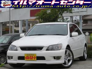 トヨタ アルテッツァ AS200 Zエディション /後期型/6速マニュアル/HIDヘッドライト/純正エアロパーツ付/純正アルミ/