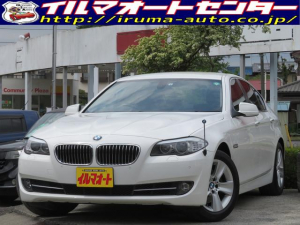 BMW 5シリーズ 528i /ワンオーナー車/禁煙車/純正フルセグTV付HDDナビ/バックカメラ付/黒本革シート/シートヒーター付/HIDキセノンヘッドライト/クルーズコントロール付