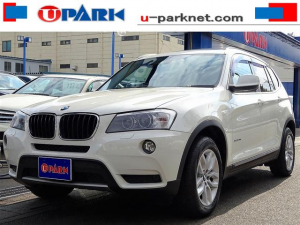 iBMW BMW X3 xDrive 20d BP パノラマSR 黒革 iDrive