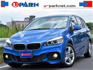 BMW 2シリーズ 218dグランツアラー Mスポーツ セーフティpkg 1オナ