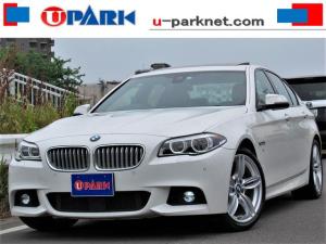 BMW 5シリーズ アクティブHV5 Mスポーツ後期 1オナ SR 黒革 ACC