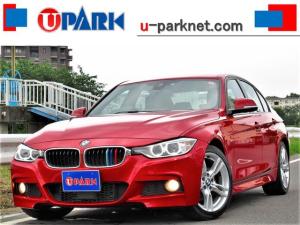 BMW 3シリーズ 320i Mスポーツ ACC・インテリS・NEWiDriveナビ・Bカメラ・DTV・BTオーディオ・USB・AUX・MSV・パドルシフト・アルカンターラ・パワーシート・18AW・アイドリングSTOP・HID・ETC