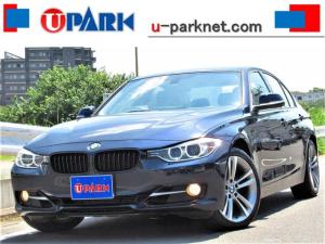 BMW 3シリーズ 320i スポーツ 1オナ・ハーマンカードンサウンド・パドルシフト・iDriveナビ・Bカメラ・BTオーディオ・MSV・USB・AUX・DVD再生・パワーシート・アイドリングSTOP・ETC・18AW・Cセンサー・