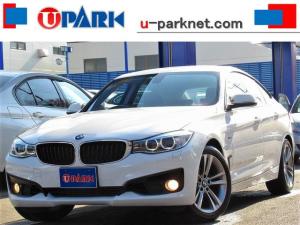 BMW 3シリーズ 320iグランツーリスモ スポーツ 1オーナー・iDriveナビ・Bカメラ・DVD・MSV・BTオーディオ・AUX・USB・パワーシート・パドルシフト・アクティブRスポイラー・スマートキー・ETC・アイドルストップ・18AW・記録簿